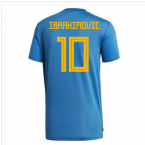 2018-2019 Sweden Training Jersey (Trace Royal) (Ibrahimovic 10)
