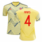 2019-20 Colombia Home Shirt (Arias 4)