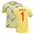 2019-20 Colombia Home Shirt (Ospina 1)