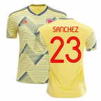 2019-20 Colombia Home Shirt (Sanchez 23)