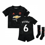 2019-20 Man Utd Third Boys Mini Kit (Pogba 6)