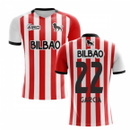 2019-2020 Athletic Bilbao Home Concept Football Shirt - Kids (GARCIA 22)