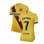 2019-2020 Barcelona Away Nike Ladies Shirt (COUTINHO 7)