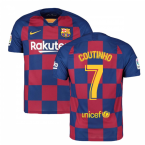 2019-2020 Barcelona Home Nike Football Shirt (COUTINHO 7)
