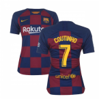 2019-2020 Barcelona Home Nike Ladies Shirt (COUTINHO 7)