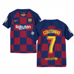 2019-2020 Barcelona Home Nike Shirt (Kids) (COUTINHO 7)