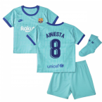 2019-2020 Barcelona Third Nike Baby Kit (A.INIESTA 8)