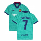 2019-2020 Barcelona Third Nike Shirt (Kids) (COUTINHO 7)