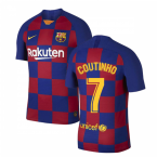 2019-2020 Barcelona Vapor Match Home Nike Shirt (COUTINHO 7)