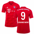 2019-2020 Bayern Munich Adidas Home Football Shirt (LEWANDOWSKI 9)