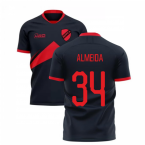 2019-2020 Benfica Away Concept Football Shirt (Almeida 34)