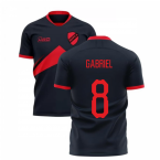 2019-2020 Benfica Away Concept Football Shirt (Gabriel 8)