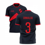 2019-2020 Benfica Away Concept Football Shirt (Grimaldo 3)
