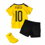 2019-2020 Borussia Dortmund Home Little Boys Mini Kit (M GOTZE 10)