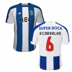 2019-2020 FC Porto Home Football Shirt (R Carvalho 6)