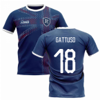 2019-2020 Glasgow Home Concept Football Shirt (GATTUSO 18)
