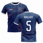 2019-2020 Glasgow Home Concept Football Shirt (WALLACE 5)