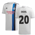 2019-2020 Hamburg Adidas Home Football Shirt (Ekdal 20)