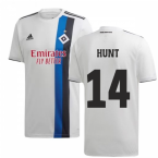 2019-2020 Hamburg Adidas Home Football Shirt (Hunt 14)