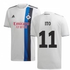 2019-2020 Hamburg Adidas Home Football Shirt (Ito 11)