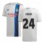 2019-2020 Hamburg Adidas Home Football Shirt (Sakai 24)