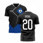 2019-2020 Hamburg Away Concept Football Shirt (Ekdal 20)