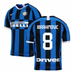 2019-2020 Inter Milan Authentic Vapor Match Home Nike Shirt (IBRAHIMOVIC 8)