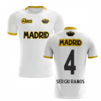 2019-2020 Madrid Concept Training Shirt (White) (SERGIO RAMOS 4)