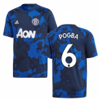2019-2020 Man Utd Adidas Pre-Match Training Shirt (Mystery Ink) - Kids (POGBA 6)