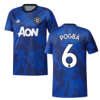 2019-2020 Man Utd Adidas Pre-Match Training Shirt (Mystery Ink) (POGBA 6)
