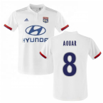 2019-2020 Olympique Lyon Adidas Home Football Shirt (Kids) (AOUAR 8)
