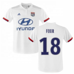 2019-2020 Olympique Lyon Adidas Home Football Shirt (Kids) (FEKIR 18)