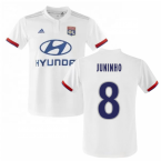 2019-2020 Olympique Lyon Adidas Home Football Shirt (Kids) (JUNINHO 8)