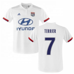 2019-2020 Olympique Lyon Adidas Home Football Shirt (Kids) (TERRIER 7)