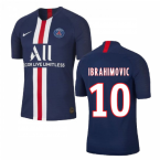 2019-2020 PSG Authentic Vapor Match Home Nike Shirt (IBRAHIMOVIC 10)