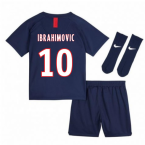 2019-2020 PSG Home Nike Baby Kit (IBRAHIMOVIC 10)