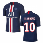 2019-2020 PSG Home Nike Football Shirt (IBRAHIMOVIC 10)