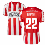 2019-2020 PSV Eindhoven Home Football Shirt (Dumfries 22)