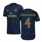2019-2020 Real Madrid Adidas Away Football Shirt (SERGIO RAMOS 4)