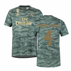 2019-2020 Real Madrid Adidas Away Goalkeeper Shirt (Sergio Ramos 4)