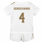 2019-2020 Real Madrid Adidas Home Baby Kit (SERGIO RAMOS 4)
