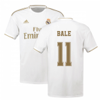 2019-2020 Real Madrid Adidas Home Football Shirt (BALE 11)