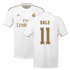 2019-2020 Real Madrid Adidas Home Shirt (Kids) (BALE 11)
