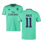 2019-2020 Real Madrid Adidas Third Football Shirt (BALE 11)