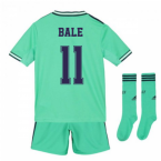 2019-2020 Real Madrid Adidas Third Full Kit (Kids) (BALE 11)