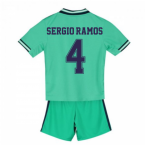 2019-2020 Real Madrid Adidas Third Mini Kit (SERGIO RAMOS 4)