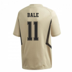 2019-2020 Real Madrid Adidas Training Shirt (Gold) (BALE 11)