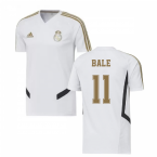 2019-2020 Real Madrid Adidas Training Shirt (White) (BALE 11)