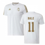 2019-2020 Real Madrid Adidas Training Tee (White) (BALE 11)