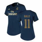 2019-2020 Real Madrid Adidas Womens Away Shirt (BALE 11)